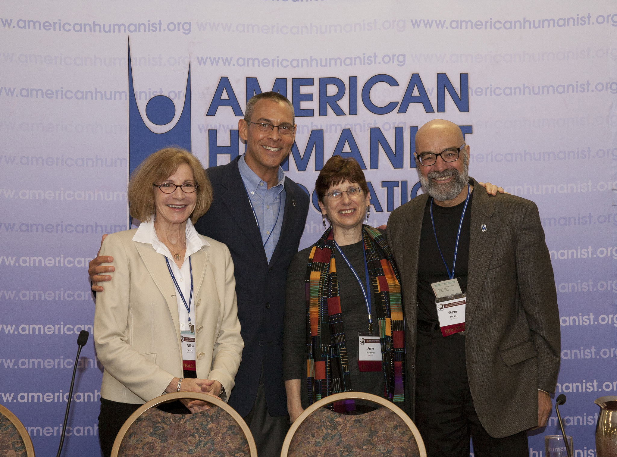 Members of Organized Humanist Response to Crises panel