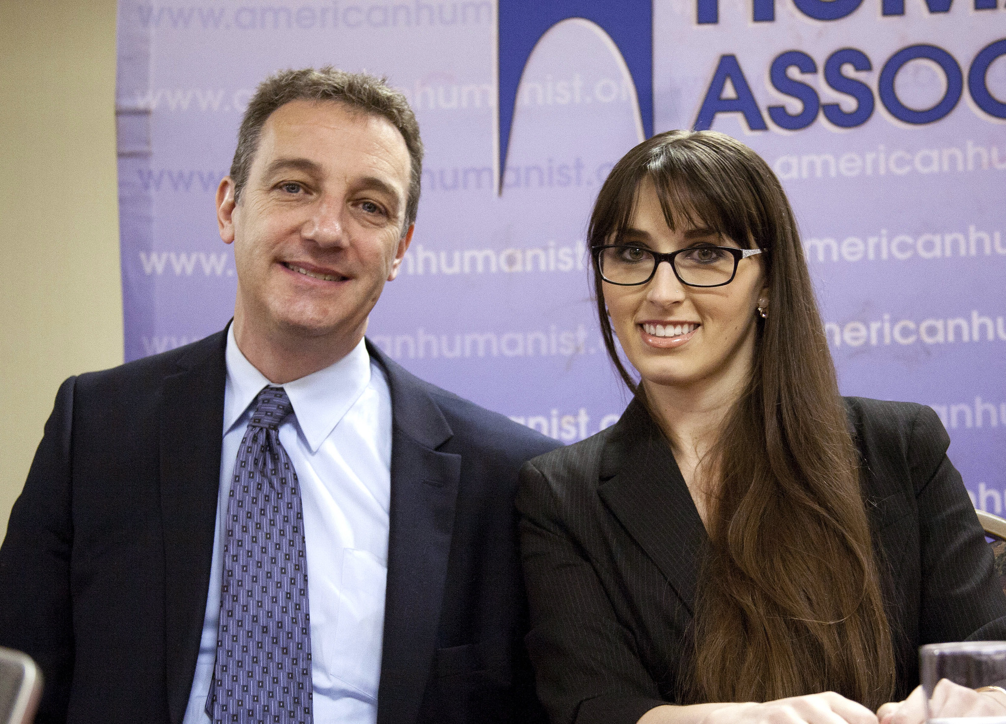 David Niose & Monica Miller of the AHA's Appignani Humanist Legal Center