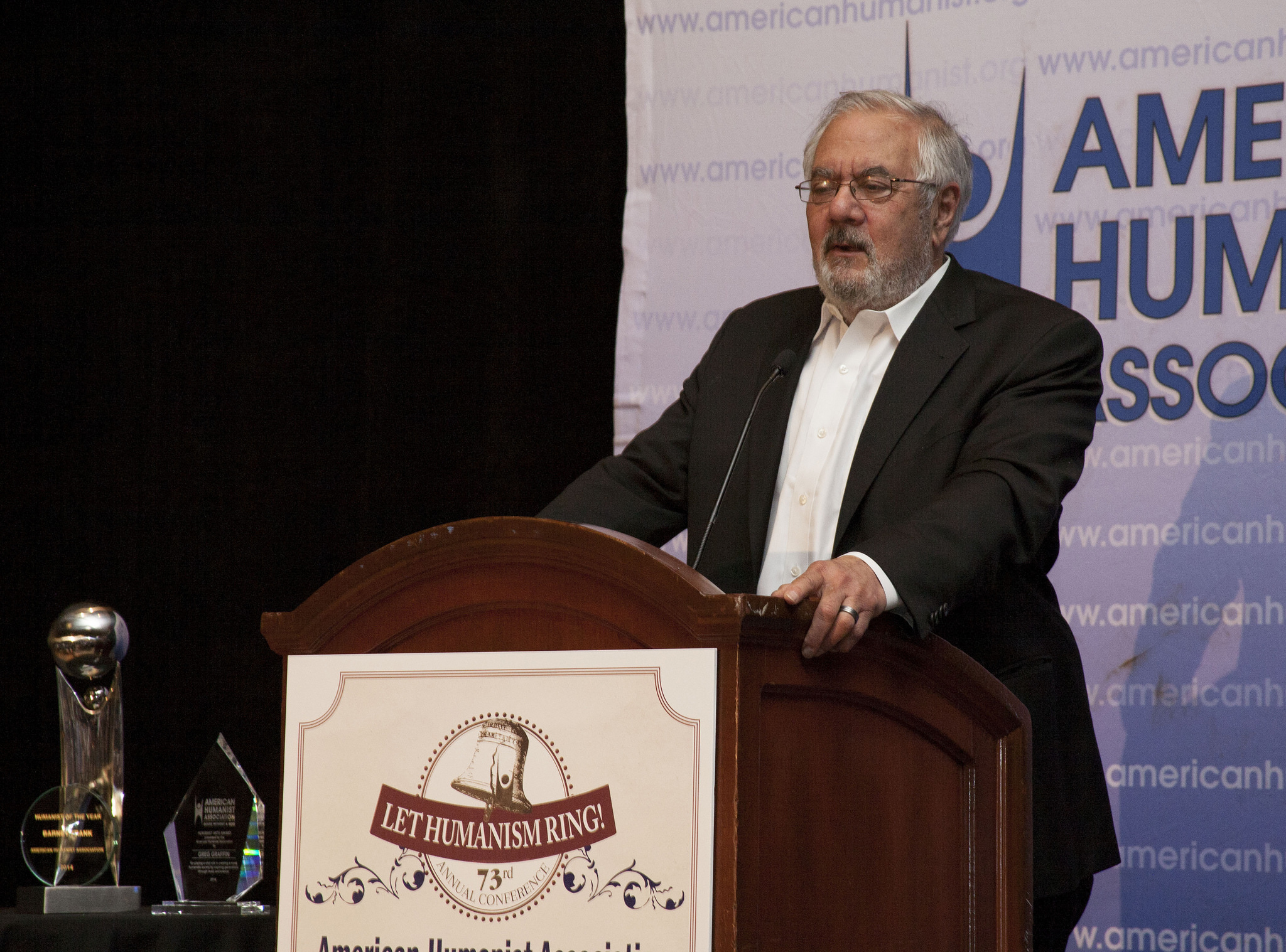 2014 Humanist of the Year, Barney Frank