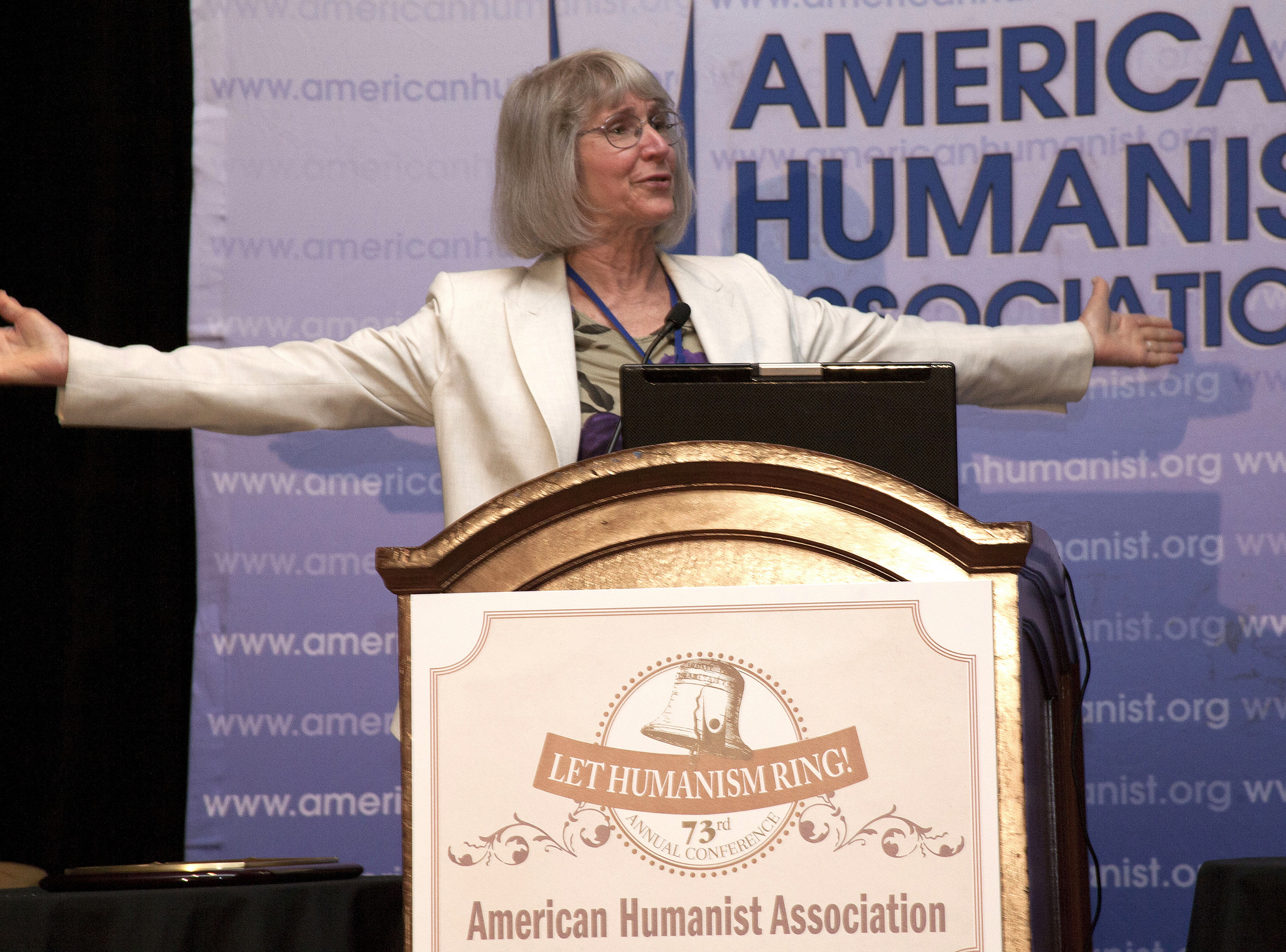 Eugenie Scott, Humanist Lifetime Achievement Award  recipient