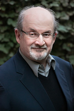 Salman Rushdie, 2019 Humanist of the Year